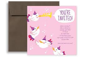 Pink White Girl Birthday Invitation Wording Free Printable