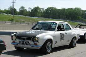 ford works walter davies 1971 ford escort rs1600 racecar number 160
