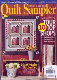 Crafts & Hobbies, Quilting Magazine Subscriptions at Newsstand.co.uk & Bhg Quilt Sampler Magazine Issue AUT/WIN 17 Adamdwight.com