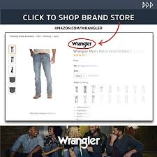 Wrangler Jacket Size Chart Wrangler Mens Western Style Unlined Denim Jacket