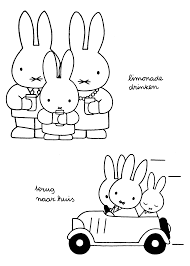 Miffy Coloring Page Tv Series Coloring Page Picgifscom