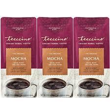 Teeccino <b>Mocha Chicory Herbal Coffee</b> Alternative, Caffeine Free ...