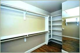 oval closet rod