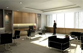 Office:Stunning Home Office Decor For Men With Brown Wooden Furniture  Natural Lobby Office Room