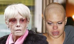 Dying Wendy Richard sent final message of hope to Jade Goody days before  losing battle with cancer   Daily Mail Online