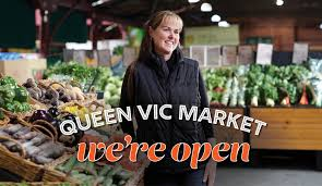 It's one of two blows to aussies today. Covid 19 Update We Re Open Queen Victoria Market