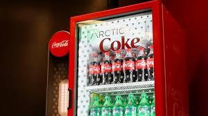 Powerade Vending Machine Fascinating The CocaCola Co Expands Instant Slushymaking Machine Testing