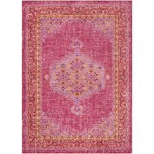 hali house distressed persian pink rug pink persian rug