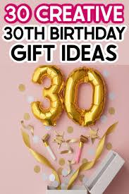 creative 30th birthday ideas for him