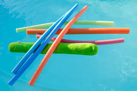 pool toys. Perfect Toys A Collection Of Colorful Noodle Floatation Devices In A Pool Water For Pool Toys E