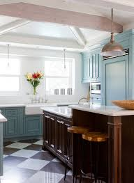 Eclectic Kitchen Cabinets Beauteous Design Trend Blue Kitchen Cabinets 48 Ideas To Get You Started