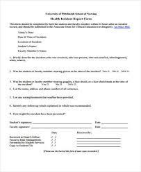 Contoh Incident Report Nursing