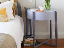 make a round bedside table