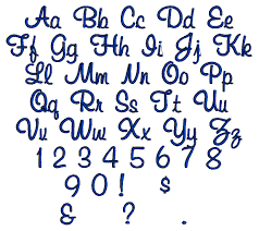 Font Styles For Tattoos Fancy Fonts Alphabet