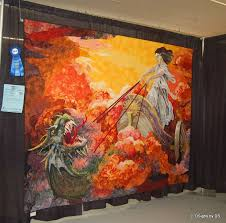 i attended the world quilt expo in manchester last week i m always impressed with what people thoughout the world create