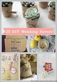 diy wedding favor ideas on a budget 20 diy wedding favors