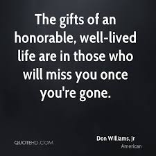 A Life Well Lived Quote