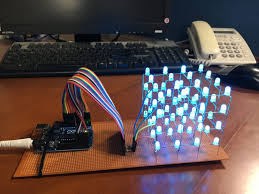 Arduino Led Light Projects Arduino Projects Led 4x4x4 Led Cube Tutorial45