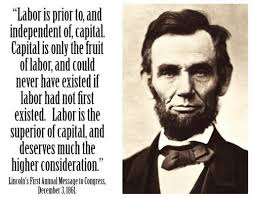 Quotes By Abraham Lincoln Inspiration Abe Lincoln Pro Labor Send This To Your R Friends 48 QuotesNew