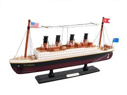 wooden rms titanic model cruise ship 14 not a kit