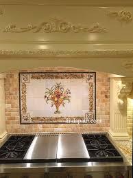 Tile Murals For Kitchen Italian Backsplash Murals Italian Kitchen Window Tile Mural