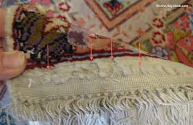 end of rug
