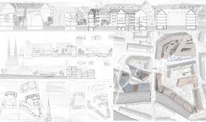 archiprix russia Полина Буш Дипломная работа Реконструкция исторического квартала и фрагмента набережной реки Пегнитц в городе