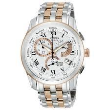 citizen watches men s ladies eco drive h samuel citizen eco drive men s chronograph two tone bracelet watch product number 1372394