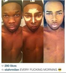 the power of makeup i didnt know you could go dark skin to light skin