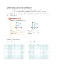 graphing a parabola from vertex form worksheet image collections graphing linear equations in standard form worksheet