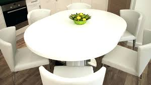 round extendable dining room tables full size of round white gloss extending dining table elegant 8 round extendable