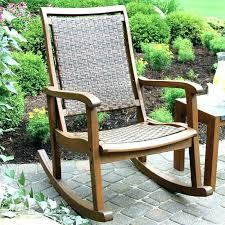 grey wicker rocking chair grey rattan rocking
