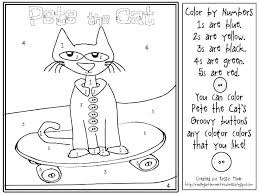 Pete The Cat Coloring Pages Cat Coloring Pages Best Coloring Kids