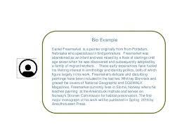 Resume Bio Example - Tier.brianhenry.co