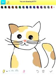 Kitty Face Drawing Mojplanet Info