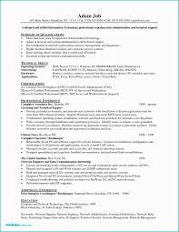 30 Free It Support Specialist Resume Gallery Fresh Resume Sample