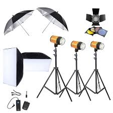 com neewer photography photo studio lighting kit 900w 3 300w smart studio flash strobe lights 3 190cm light stands black silver 33