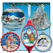 Christmas Ornaments  Wholesale Murano Glass And Murano Glass JewelryChristmas Ornaments Wholesale