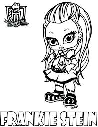 monster high babies coloring pages wolf many interesting superheroes printable baby