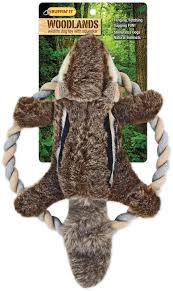 Woodlands Plush Chipmunk <b>Rope</b> Ring Tosser <b>Dog Toy</b> - Walmart ...