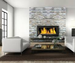 stacked stone fireplace ideas kitchen traditional with artistic