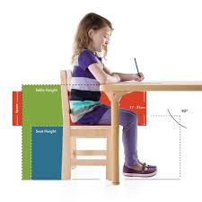 Table Chair Height Chart
