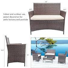 outdoor patio furniture clearance 4 pieces outdoor patio furniture sets clearance rattan chair wicker indoor outdoor