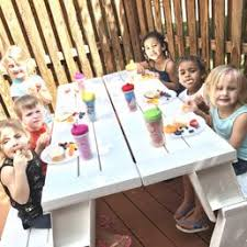 preschool lunch table. Photo Of Kiddie Care Preschool - Germantown, MD, United States. Lunch And Vitamin Table