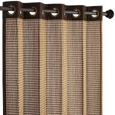 charming bamboo curtain panels bamboo panel track blinds brown curtain interesting bamboo