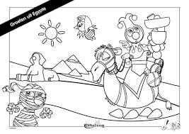 Efteling Kleurplaat Jokie Groeten Uit Egypte Fun Coloring