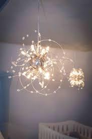 nursery chandelier for baby