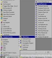 microsoft word menus templates menu in microsoft word