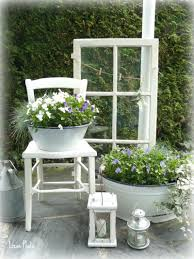 Altes Fenster Verschönt Die Terrasse Monique 1977 Garten Garten