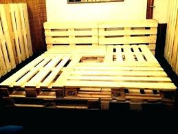 pallets bed diy king size pallet bed frame beds home design pallet bed king size pallet pallets bed diy